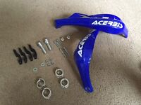 Acerbis handle bar guards, (mx, supermoto, offroad, universal fit)