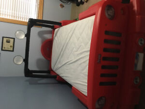 Little Tikes Jeep Bed (mattress not included)