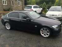 Bmw 325i on a 55 plate with private plate,full black leather