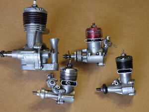 Four RC Engines