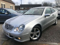 ✿56-Reg Mercedes-Benz C160 Kompressor 1.8 auto SE ✿ONE LADY OWNER✿