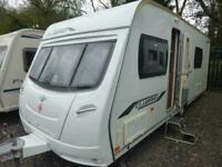 Lunar Clubman SE 2010 Touring Caravan - 4 Berth Fixed Bed
