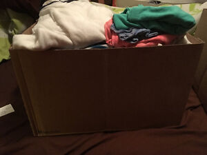 Box of clothes size XL /16