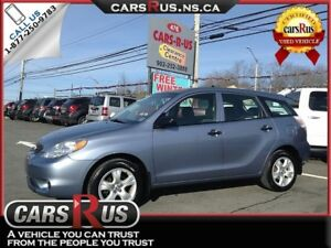2005 Toyota Matrix Base.....Includes 4 FREE winter tires!!