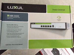LUXUL XBR-4400 Commercial Grade Multi-WAN Gigabit Router