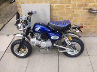 Monkey bike 50cc registered 140 engine. Yamaha Honda Kawasaki gilera piaggio