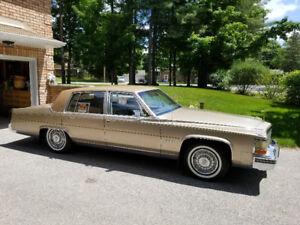 1981 Cadillac Fleetwood Brougham.