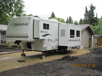 2002 Okanagan 29RLS Fifth Wheel Trailer