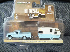 1963 DODGE D-100 and SHASTA AIRFLYTE TRAILER