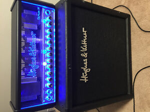 Hughes Kettner amp head and cab for one low price!!!
