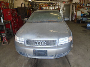 We are Now Parting Out this Audi A4 Station 2003 Quattro