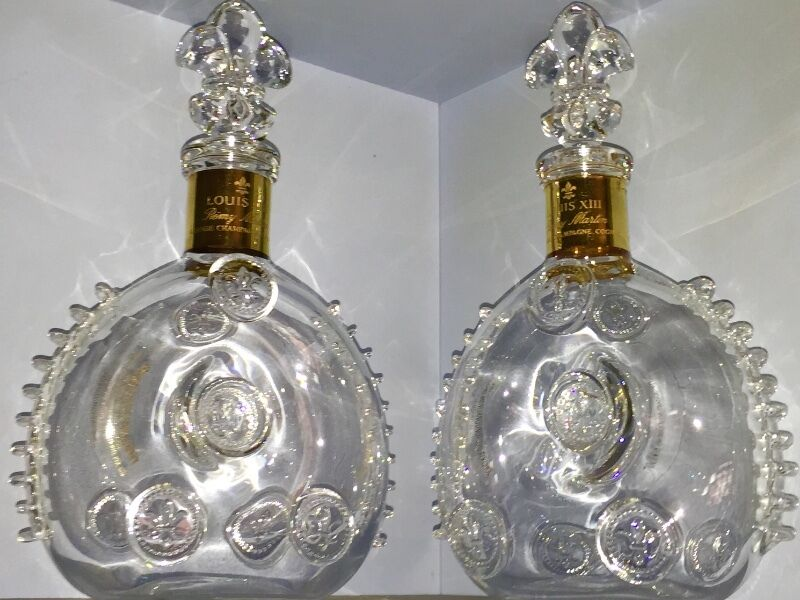 Crystal Liquor Bottles