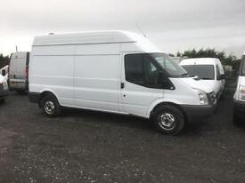 FORD TRANSIT 350 H-R, White, Manual, Diesel, 2010