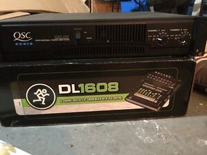 Qsc rmx 850 power amplifier - perfect working condition London Ontario image 1