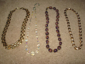 Necklaces ( 1950's - 60's - 70's )