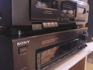 Sony STR D315 Receiver Sony TC-WE305 Stereo Dual Cassette Deck