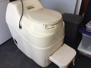 Composting Toilet by Sunmar