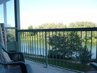 1 Bedroom in double condominium unit overlooking small lake