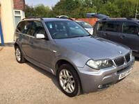 2007 07 BMW X3 2.0 D M SPORT 5D 148 BHP DIESEL