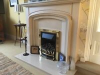 Baxi Wentworth Classic inset Gas Fire (Marble fire surround not included)