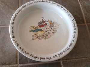 Children's Peter Rabbit Dish and Cutlery