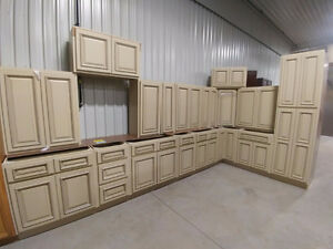 New Kitchen Cabinet Sets at Bryan's Auction