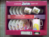 Vintage Collectible Barbie Dolls Mint In Box