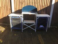 Trespass camping kitchen for sale