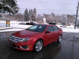 2010 fusion AWD Sport limited edition