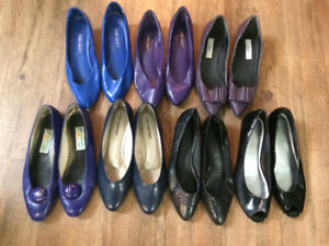 Women's sz 10.5 shoes - 41 pairs of everything!