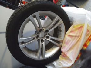 BMW M5 Winters and rims for sale