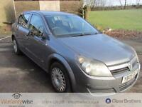 VAUXHALL ASTRA LIFE 16V, Grey, Auto, Petrol, 2005 MOT MARCH 2017