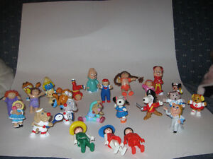 Vintage Figurines Wrinkles, Cabbage Patch Kids, Snoopy, others
