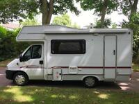 Motorhome Peugeot BOXER 2.0 HDI Eddist Autoquest,5 birth,2 double beds,campervan