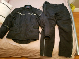 Tourmaster Motorcycle Jacket and Pants - motorcycle suit