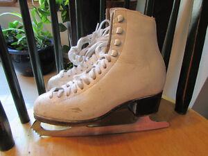 Sz 3.5(4.5) Wifa Boot, Wilson Coronation Ace Blade Figure Skates