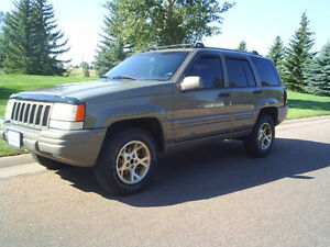 1997 Jeep Grand Cherokee Limited SUV, Crossover