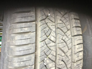Summer tires and rims used 1 season