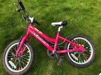 "Girls Ridgeback Melody 16"" bike"