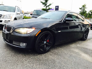 2008 BMW 335I COUPE BLACK ON BLACK LEATHER, VERY FAST!!!!!!!!!!