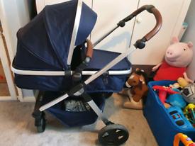 Baby elegance venti 3 in 1 pram /car seat