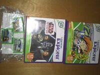 Leap Frog Explorer Games