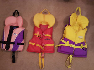 Infant, Child and Youth Life Jackets