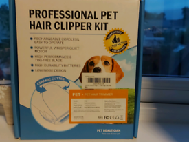 Professional pet hair clippers