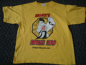 Boys Size 6-8 Martial Arts Short Sleeve T-Shirt Kingston Kingston Area image 1