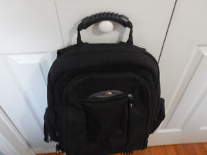 computer bag and computer back pack almost new