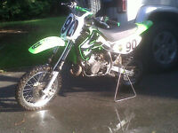 Kawasaki KX 65 For Sale Excellent condition.