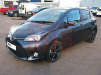 2015 Toyota Yaris Sport VVT-I 1.3 DAMAGED REPAIRABLE SALVAGE