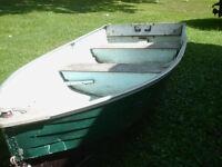 12 aluminum boat-$225 firm