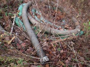 Trash Pump and hoses